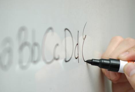 3er Set   38x5cm   selbstklebende & magnetische Whiteboard Tafelfolie   Streifen für Kreidestifte und Boardmarker