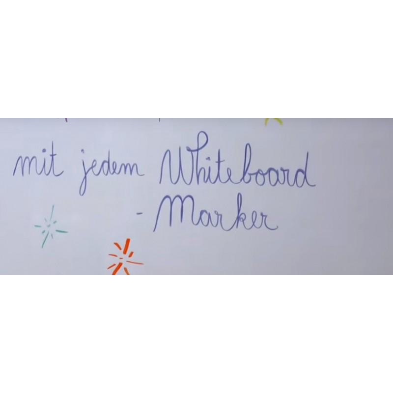 Magnetfolie Whiteboard | Wochenplan | Kühlschrankfolie 42x30cm_weiß