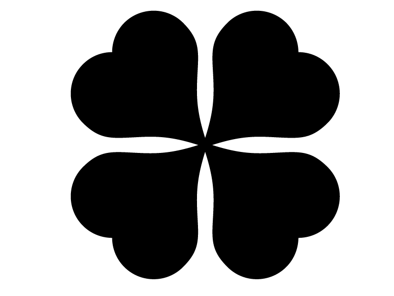 90 x 90 cm | Tafelfolie  🍀 Kleeblatt 🍀  | Kreide & Kreidestift | schwarz | selbstklebende Kreidefolie